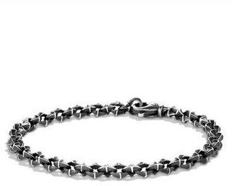 David Yurman Armory Extra-Small Link Bracelet $350 thestylecure.com