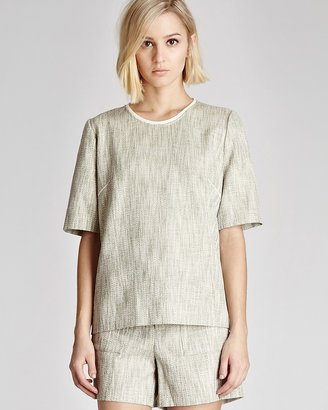 Reiss T Shirt - Thea Tweed