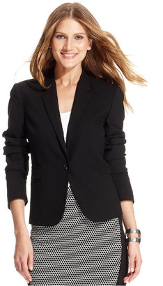 Vince Camuto Long-Sleeve One-Button Blazer