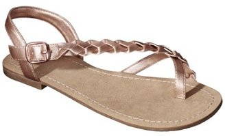 Mossimo Women's Lady Sandal - Gold