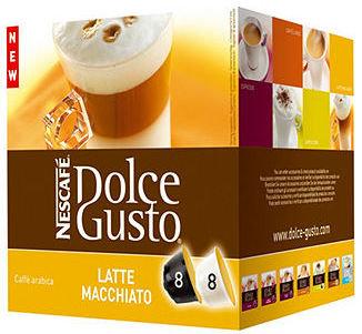Krups Nescafé 27326 Coffee Pods, Dolce Gusto Latte Macchiato