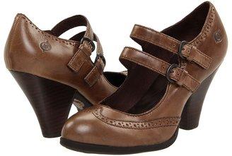 Børn Davina (Taupe Leather) - Footwear