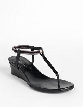 BCBGeneration Jiggy T-Strap Wedge Sandals