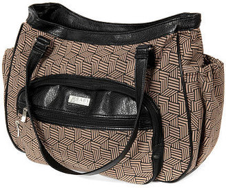 Baby Innovations Continental Hobo Diaper Bag / Mocha