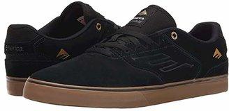 Emerica Low Vulc (Black/Gum) Men's Skate Shoes