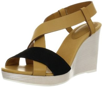 See by Chloe Women's Cross Strap Platform Wedge Sandal