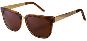 RetroSuperFuture Super Sunglasses People Havana Gold Metal