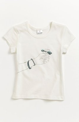 Chloé Print Tee (Toddler, Little Girls & Big Girls) Turquoise 10