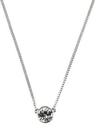 Givenchy Single Crystal Stone Necklace