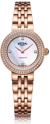 Rotary Watches Rose Gold Kensington Ladies