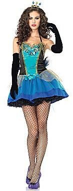 JCPenney Womens Costume, Sassy Blue Beauty