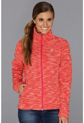 Spyder Virtue Full Zip Mid Weight Core Sweater (FSD/Flirt) Women's Sweater