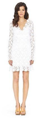 Diane von Furstenberg Hippolyte Flower Lace Dress