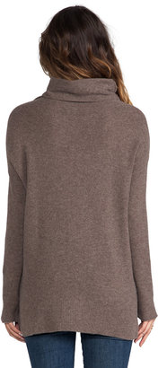 Joie Reverse Pearl Stitch Cashmere Sweater