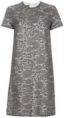 Rochas Lace print dress