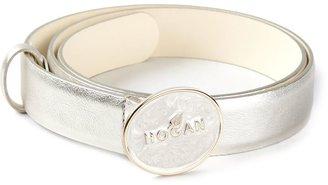 Hogan metallic belt