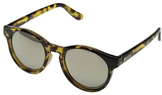 Le Specs Hey Macarena (Syrup Tort/Gold Revo Mirror) Fashion Sunglasses