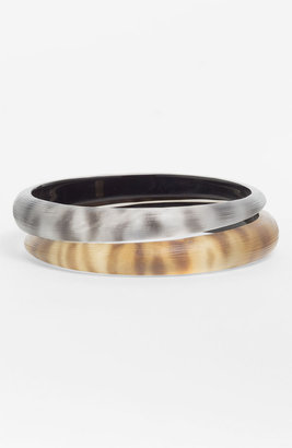 Alexis Bittar Leopard Skinny Tapered Bangle (Nordstrom Exclusive)