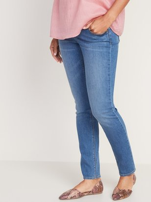 Old Navy Maternity Front Low-Panel Universal Straight Jeans