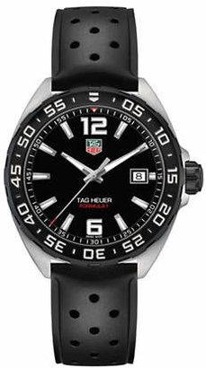 Tag Heuer Analog Formula 1 WAZ1110.FT8023 Rubber Watch