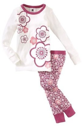 Tea Collection Girls 2-6X Cherry Blossom Pajama