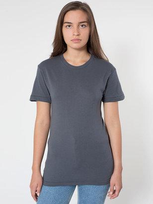 American Apparel Unisex Sheer Jersey Short Sleeve Summer T-Shirt