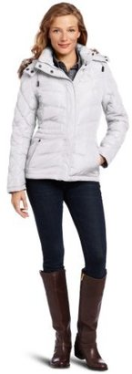 Kenneth Cole Women's Micropoly Short Down Coat