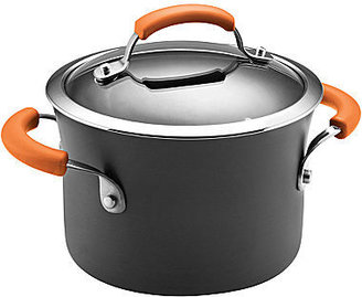 Rachael Ray 3-qt. Hard-Anodized Covered Saucepot