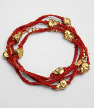 Fred Flare Skull Wrap Bracelet