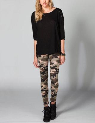 Full Tilt Camo Print Womens Leggings