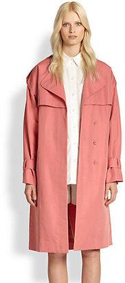 Chloé Cotton & Silk Trenchcoat