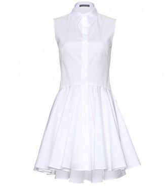 Alexander McQueen COTTON DRESS