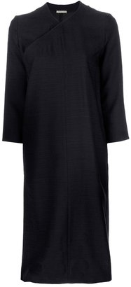 Christophe Lemaire wrap-over dress