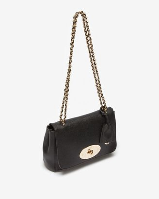 Mulberry Lily Grainy Print Leather: Black