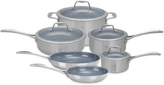 Zwilling J.A. Henckels Spirit Ceramic Coated Nonstick 10-Piece Cookware Set and Open Stock