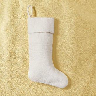 west elm Felt Stockings