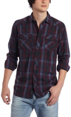 Ambiguous Men's Alistair Long Sleeve Woven Shirt