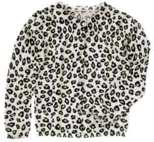 Crazy 8 Leopard Print Cardigan