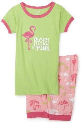 Hatley Girls 2-6x Flamingos Short Pajama Set