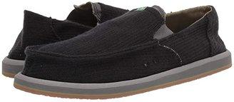 Sanuk Pick Pocket Hemp (Black Hemp) Men's Slip on Shoes