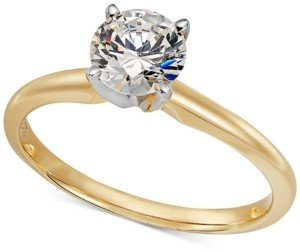 Hearts.Arrows.Together Solitaire Diamond Engagement Ring in 14k Gold (1 ct. t.w.)