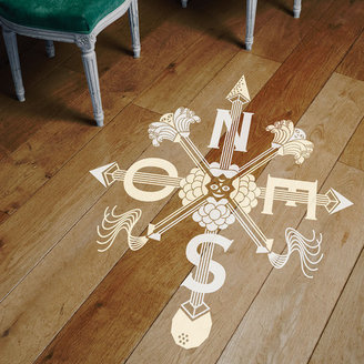 Domestic Boussole Floor Decal