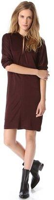 Alexander Wang Knit Long Sleeve Dress