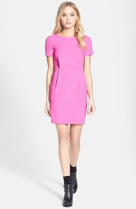 Topshop 'Elfin' Crepe Dress