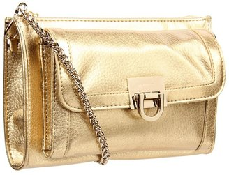 Ivanka Trump Rebecca Crossbody Wallet (Gold) - Bags and Luggage