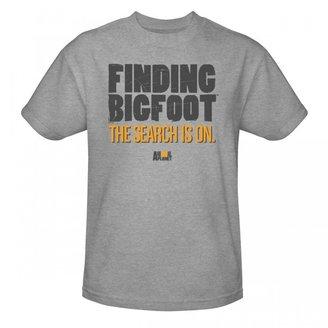 Finding Bigfoot Logo T-Shirt - Grey