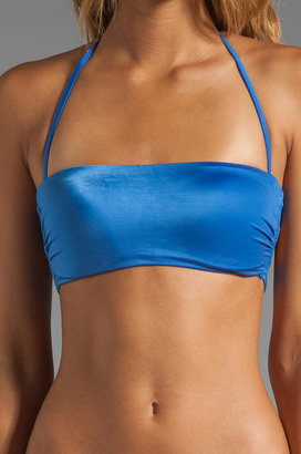 Vix Swimwear Bandeau Cross Top