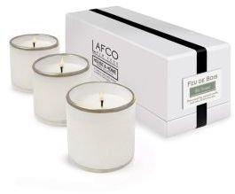 Lafco Inc. Ski House/Feu de Bois Mini Candle Trio