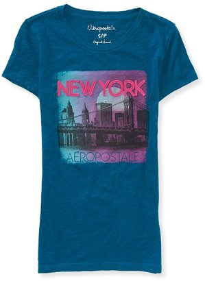 Aeropostale NY Brooklyn Bridge Graphic T