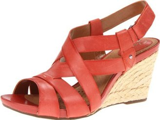 Clarks Women's Kyna Wit Wedge Sandal